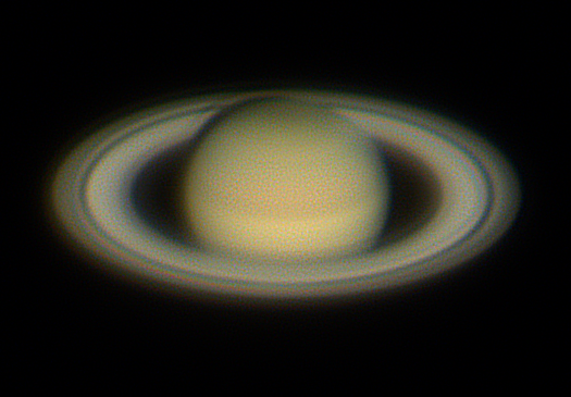 CCD Images of Saturn at 2018 Opposition